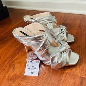NWT Zara heels sz 8